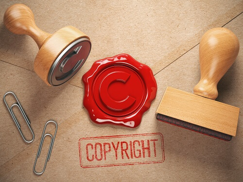 Picture of s copyright seal signature